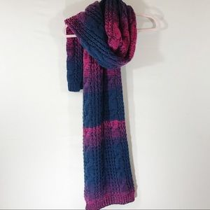 Cable Knit Blanket Scarf
